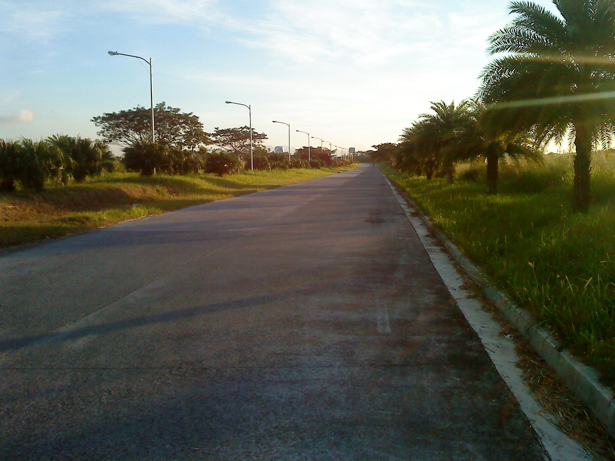 driveway to dlsu canlubang
